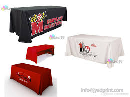 6ft Table Cloth by 6ft Exhibition Company Table Cover Trade Show Logo Table Cloth