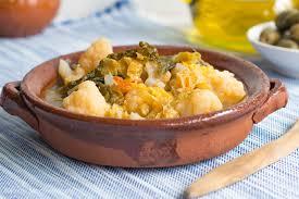 cuisine majorquine majorcan soup with vegetables bread tasty mediterraneo
