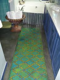 Bathroom Rug Yellow Bathroom Runner Rug Best Rug 2017
