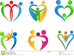 family logo stock vector illustration of children 40053622