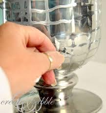 How To Make A Mercury Glass Vase Diy Mercury Glass Vase Create And Babble