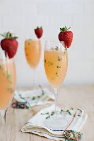 strawberry grapefruit mimosa a beautiful mess grapefruit