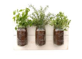 Wall Planters Indoor by Reclaimed Wood Herb Planter Dark Wood Hanging Planter Indoor