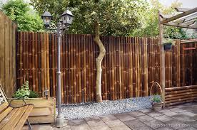 giant black bamboo fence panel 90 x 180 cm