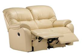 2 Seat Leather Reclining Sofa by G Plan Mistral Leather 3 Seater Sofa With 3 Seat Cushions Tr