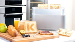 cuisine high tech cuisine high tech the customizable bread toaster cuisine high tech