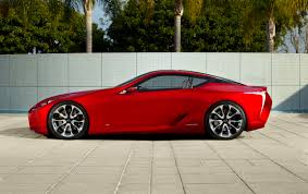 lexus lf fc lexus lf lc sports coupe concept new pictures