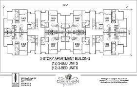 floor plans for units 12 unit apartment building plans best home design