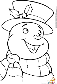 brilliant snowman coloring snapshot fantastic coloring