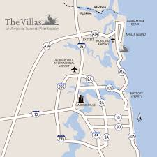 Map Of Jacksonville Florida by Directions To Amelia Island Villas Of Amelia Island Plantation