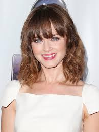 lob haircut with bangs lob hairstyle with bangs women fashion tips
