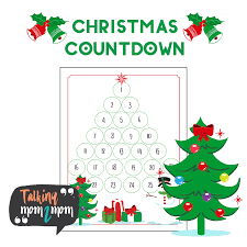 tree countdown talking mom2mom
