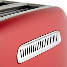 Motorised Toaster Kitchenaid Artisan 2 Slice Toaster Empire Red On Sale Now