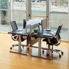 Electric Height Adjustable Computer Desk Sit Stand Desks Workrite Ergonomics
