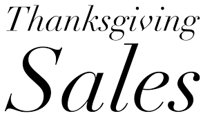 check out all the just launched thanksgiving day 2015 sales