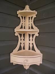 vintage corner wooden shelves for sale antique scrolled wood
