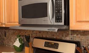 microwave with fan over the range range hood with microwave shelf premier over stove pertaining to