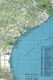 Map Of Gulf Coast Louis Brownsville U0026 Mexico Railway Company Tex Map Showing