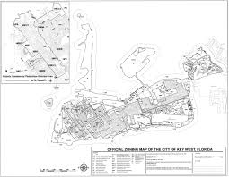 Key West Florida Map City Of Key West Official Zoning Map Key West Fl