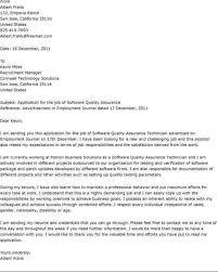 Cover Letter For Testing Resume Qa Claims Tester Cover Letter