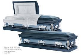 blue casket caskets