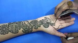 henna design arabic style arabic mehndi designs images full hand simple nice arabic mehndi