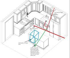 Plumbing Floor Plan Island Dishwasher Plumbing Terry Love Plumbing U0026 Remodel Diy