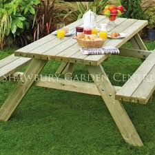 fold out picnic table grange picnic table with fold up benches