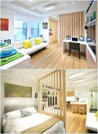 Room Divider Ideas For Studio Apartments A Bookshelf Is One Of Many