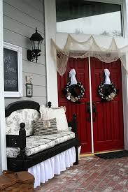 Fall Decorated Porches - 70 cute and cozy fall and halloween porch décor ideas shelterness