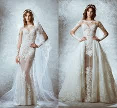 turmec zuhair murad long sleeve lace wedding dress