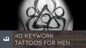 40 keywork tattoos for men coheed and cambria youtube