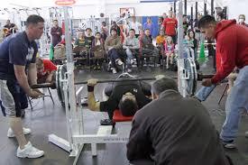 ironworks gym hosts 2010 open bench press competition u003e marine