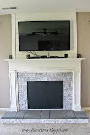 fireplace display diy faux fireplace entertainment center part 3 bless u0027er house