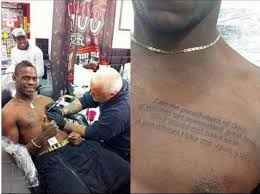 10 of the worst tattoos in football including balotelli s