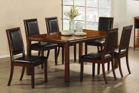 Birch Kitchen Table by Walnut Finish Birch Dining Room Set Casual Dinette Sets