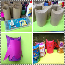 halloween toilet paper roll crafts for kids parents and kids