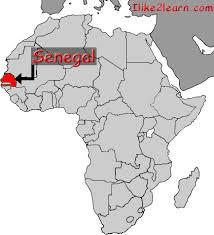africa map senegal senegal gif