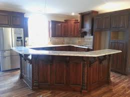 100 kitchen island with corbels bordeaux and sable glaze
