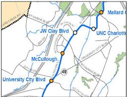 light rail schedule charlotte nc development potential and tax increment opportunity in charlotte