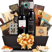 wine and gift baskets wine gourmet extravagance gift basket wine gifts