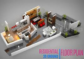ground floor plan 3d floor plan design interactive 3d floor plan yantram studio