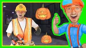 halloween songs for kids with blippi trick or treat nursery