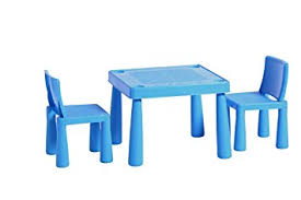 plastic table with chairs childrens kids plastic garden outdoor or indoor table and 2 chairs