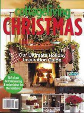 Cottage Decorating Magazine by Cottage Living Magazine Ebay