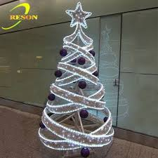 lighted spiral tree outdoor lighted wire