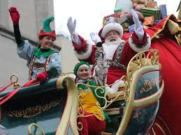 santa bringing another grand parade to an end macys thanksgiving