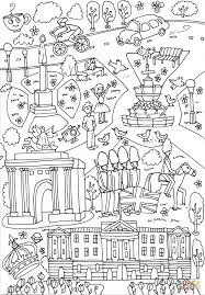 buckingham palace wellington arch and piccadilly circus coloring