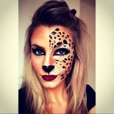 Halloween Cheetah Costume 17 Images Cheetah Face Paint
