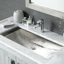 Double Trough Sink Bathroom Vanity Kohler Double Trough Bathroom Sink Steel Cabinet Awesome Sinks